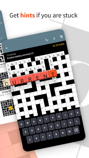Serious Crosswords - free crossword every day 1.52 screenshots 2