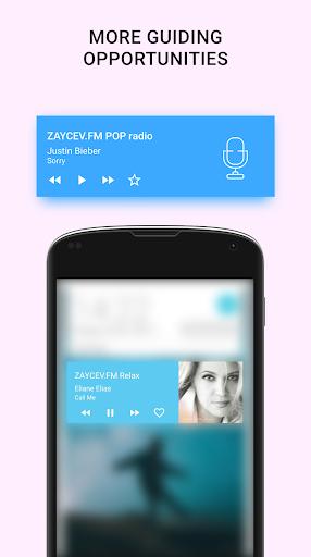 Online radio - Zaycev.fm. Listen radio offline android2mod screenshots 5