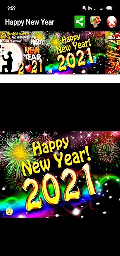 Happy New Year Greetings 2021  Screenshots 2