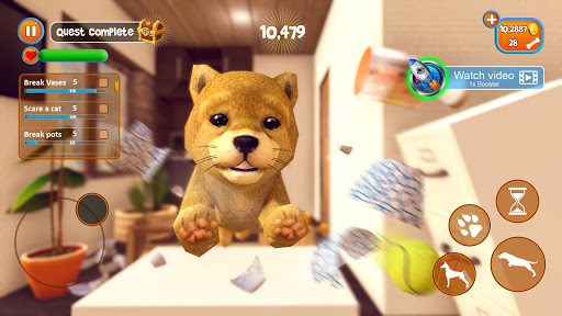Virtual Puppy Simulator - Pet Dog Family Adventure 2.9 screenshots 18
