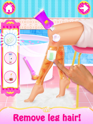 Spa Day Makeup Artist: Makeover Salon Girl Games android2mod screenshots 2