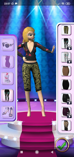 3D Fashion Superstar Dress Up screenshots 5
