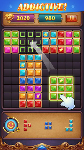 Block Puzzle: Diamond Star Blast 2.2.0 Screenshots 7