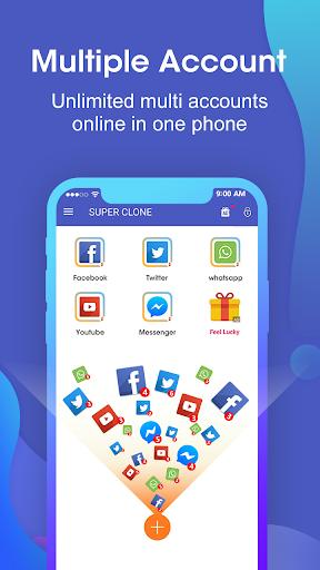 Download APK: Super Clone – App Cloner for Multiple Accounts v3.9.10.0701 [Premium]