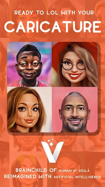 Voilà AI Artist - Photo to Cartoon Face Art Editor  poster 5