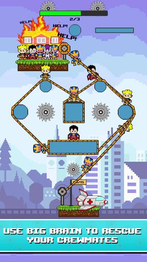 Rope Pixel Master - Rescue Hero Academy 0.14 screenshots 4