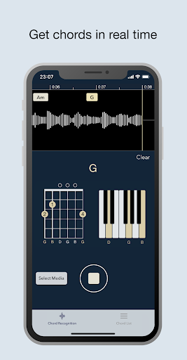 Chord AI - Real-time chord recognition  screenshots 1