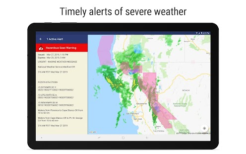 NOAA Weather Radar Live & Alerts Screenshot