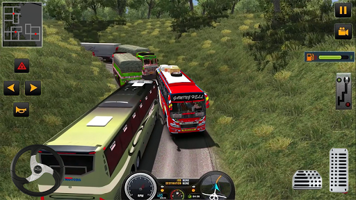 Modern Heavy Bus Coach: Public Transport Free Game 0.1 screenshots 18