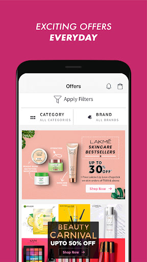 Nykaa: Beauty Shopping App. Buy Makeup & Cosmetics apktram screenshots 3