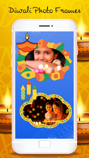 Happy Diwali Photo Frames - Photo Editor screenshots 3