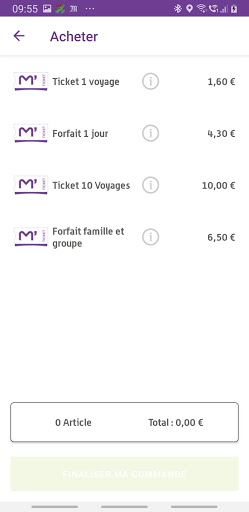 M'Ticket - TaM mobile ticket android2mod screenshots 4