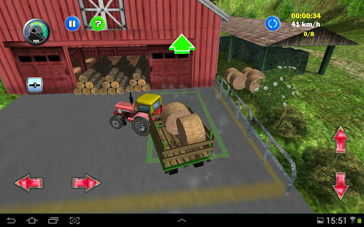 Tractor Farm Driving Simulator apkslow screenshots 4