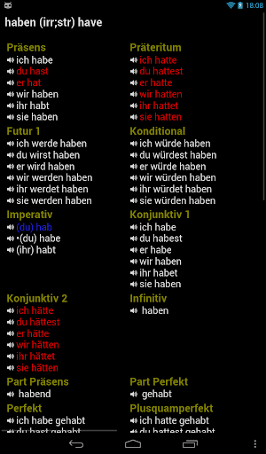 German Verbs For PC Windows (7, 8, 10, 10X) & Mac Computer Image Number- 11