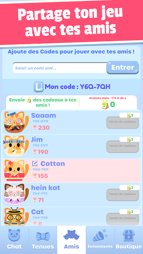 Code Triche Greedy Cats: clique chaton (Astuce) APK MOD screenshots 6