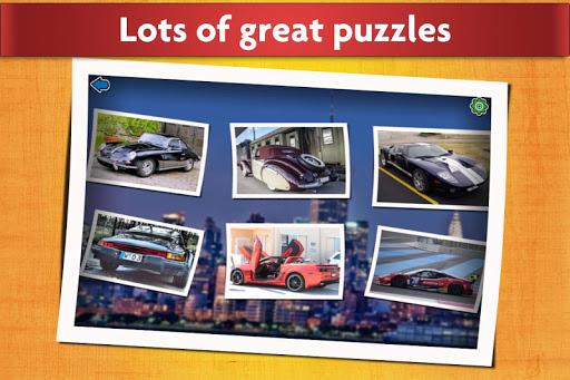 Sports Car Jigsaw Puzzles Game - Kids & Adults ud83cudfceufe0f screenshots 2