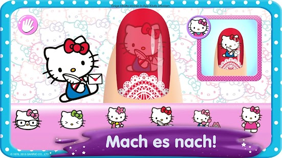 Hello Kitty Nagelsalon Screenshot