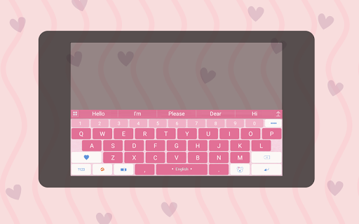 ai.keyboard My Baby Girl theme 5.0.10 Screenshots 6