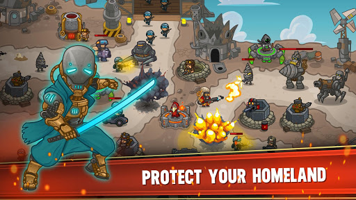 Steampunk Defense: Tower Defense 20.32.543 screenshots 1