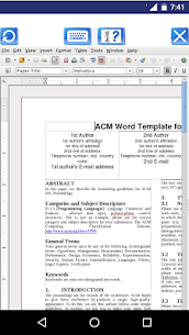 AndroWriter document editor  Download For Pc (Install On Windows 7, 8, 10 And  Mac) 2
