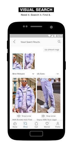 boohooMAN u2013 Menu2019s clothing shopping app  Screenshots 5