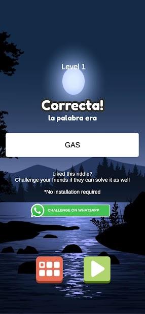 Spanish Word Game (Puzzles) screenshot 2