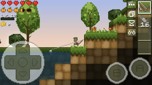 LostMiner: Block Building & Craft Game  screenshots 2