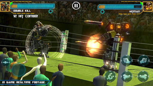 Real Robot Ring Boxing screenshots 4
