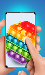 Pop It Sensory Fidget cube toys 3d Anxiety Relief 3
