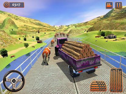 Farm Tractor Cargo Driving Simulator 20 screenshots 9