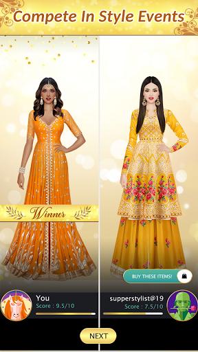 Indian Fashion Dressup Stylist  screenshots 4