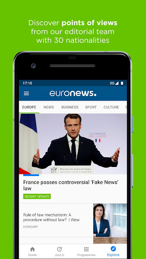 Euronews: Daily breaking world news & Live TV 5.4.2 Screenshots 8