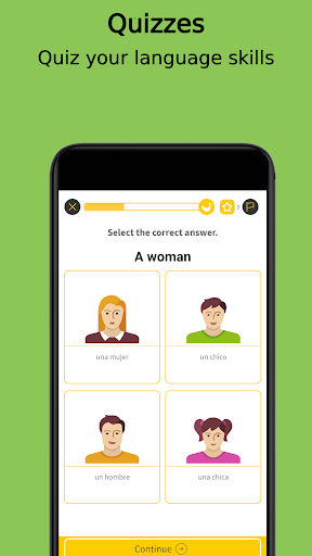 Learn Spanish With Ling - Language Learning App modavailable screenshots 5