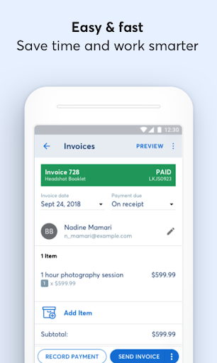 Wave Invoicing modavailable screenshots 3