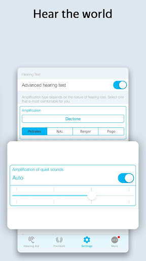 Petralex Hearing Aid App 3.7.3 Screenshots 7