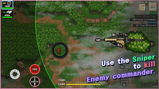 Team Six Armored Troops V1.1.5 Mod Apk – (Free Shopping) 3