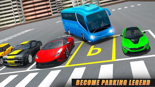 Modern Bus Drive Parking 3D Games - Bus Games 2021 1.2 Screenshots 1