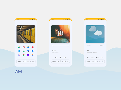 Wavy for KLWP 2020.Aug.04.11 (Paid)