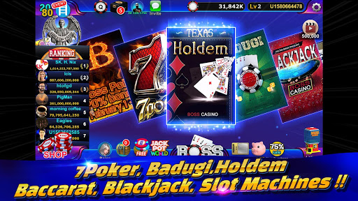 Boss Poker u2013 Texas Holdem Blackjack Baccarat  screenshots 5