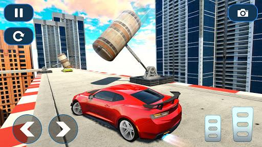 Mega Ramp Car Stunt Races - Stunt Car Games 2020 modavailable screenshots 7
