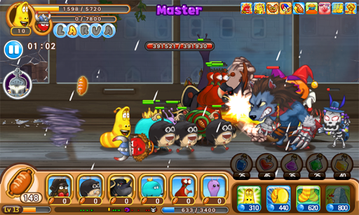 Larva Heroes: Lavengers 2.7.3 screenshots 10