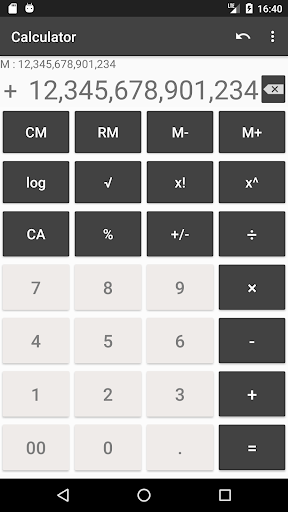 Calculator with many digit (Long number) 1.9.11 screenshots 1