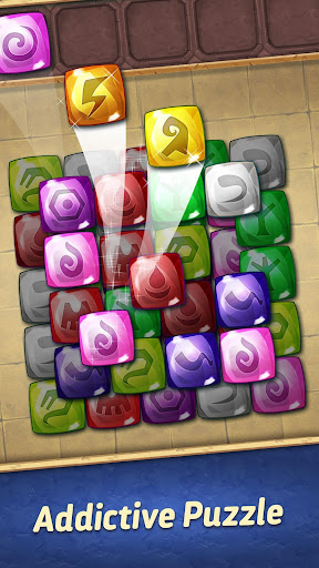 jones adventure mahjong - quest of jewels cave screenshot 1