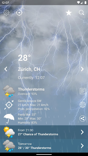 Weather Switzerland XL PRO 1.4.6.4-ch Screenshots 2