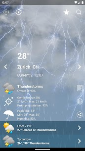 Weather Switzerland XL PRO For Pc (Free Download On Windows 10, 8, 7) 2