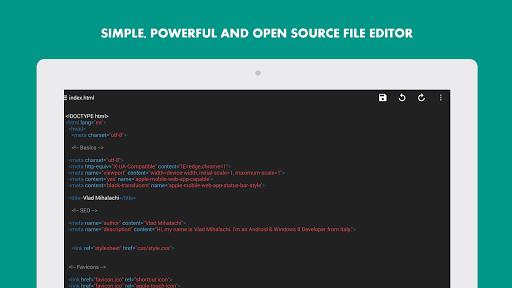 Turbo Editor // Text Editor  Screenshots 8