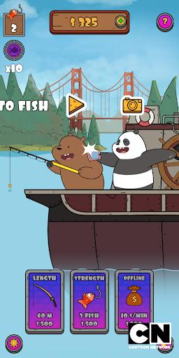 We Bare Bears: Crazy Fishing  screenshots 1