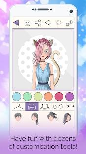 Anime Avatar Creator: Make Your Own Avatar 3.0.4 Screenshots 4