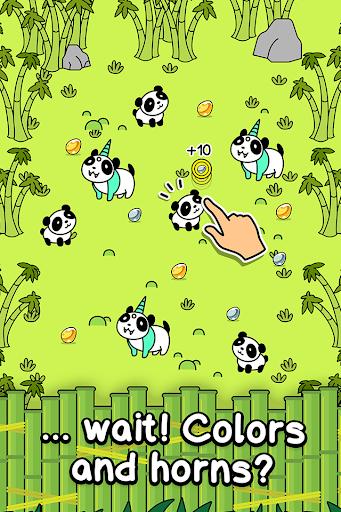 Panda Evolution - Cute Bear Making Clicker Game screenshots 2