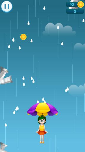 Télécharger Drip Drip Drop: Dodge Drops with Magic Umbrella mod apk screenshots 2